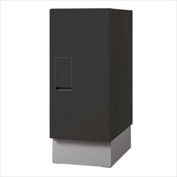 【即出荷】 『みかん箱10kg相当の箱が納まる』 ナスタ 宅配ボックス 据置タイプ レギュラー 本体+台座セット 前入前出 KS-TLT240-S500-BK/KS-TLT240-SH100『一戸建て用 屋外』 ブラック, 大勝軒 cbdf2523
