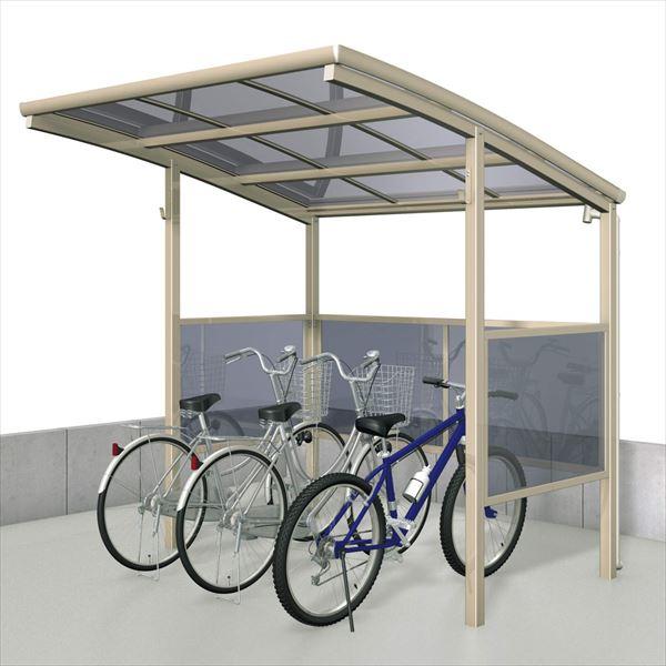 サイクルポート 三協アルミ ベルランド パネル1段タイプ 一般地域向 KLA-1421 『サビに強いアルミ 日本製 家庭用 自転車置場 屋根』