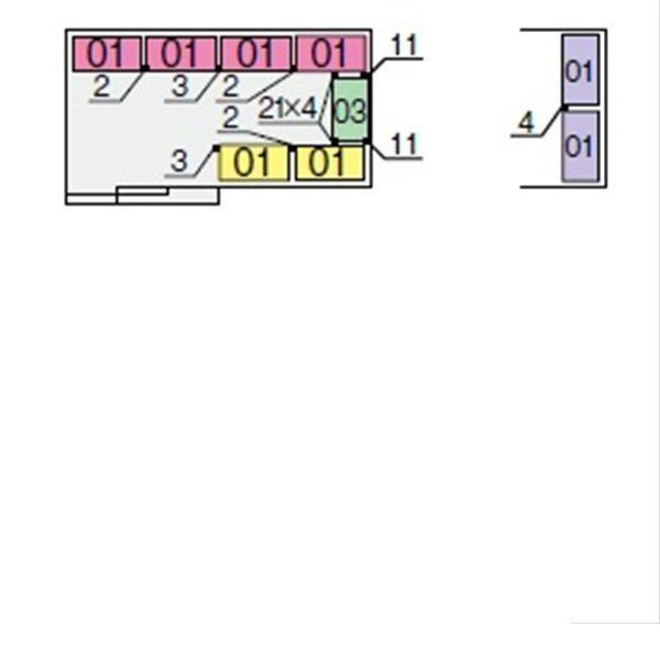 イナバ物置 NXN 間口3580用 別売棚Aセット(標準棚) *単品購入価格 大型タイプ