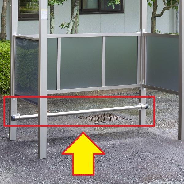 大仙(ダイセン) 自転車スペース オプション 車止め 間口18用