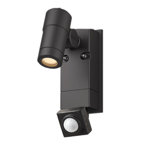 タカショー ウォールスポットライト オプティS 人感センサー付 HBA-D23K #75411300 ブラック