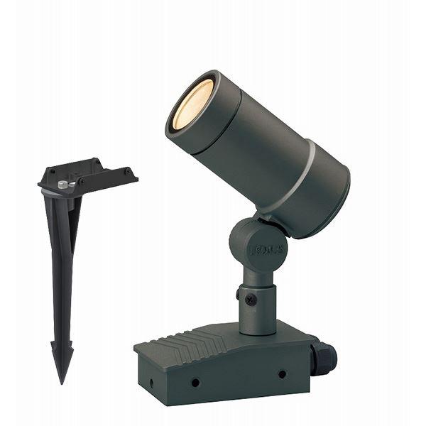 タカショー ガーデンアップライト オプティ M 中角 100V スパイク付 HFE-D57C #74172400 チャコールグリーン