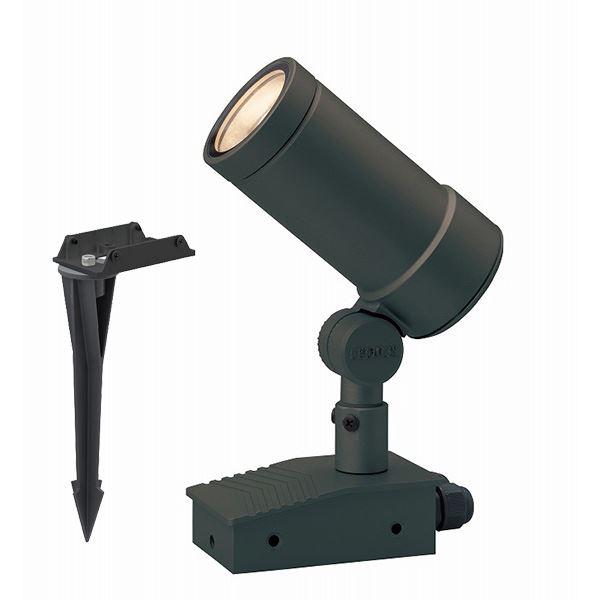 タカショー ガーデンアップライト オプティ L 狭角 100V スパイク付 HFE-D58C #74174800 チャコールグリーン