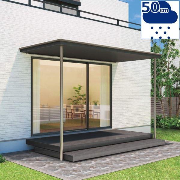 四国化成 ファンルーフ 基本タイプ 基本セット 標準高 3320×6尺(1800) 1500N/m2(耐積雪50cm)