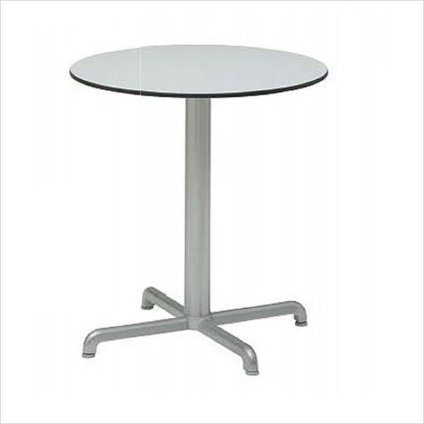 タカショー カリス ラウンドテーブル NAR-T08G #33330100 『ガーデンテーブル』 グレー