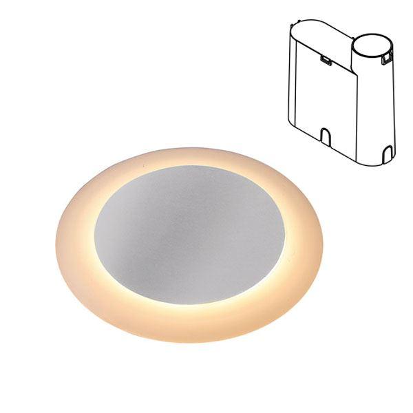 タカショー 地中埋込型ライト リングフットライト 地中埋込用 HBD-D24S #79848300 ローボルト 照明 12V 照明・電球色