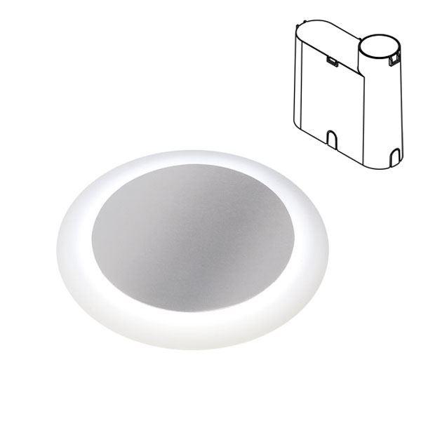 タカショー 地中埋込型ライト リングフットライト 地中埋込用 HBD-W24S #79853700 ローボルト 照明 12V 照明・白