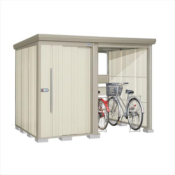 タクボ物置 TP/ストックマンプラスアルファ TP-2819W 一般型 標準屋根 『追加金額で工事も可能』 『駐輪スペース付 屋外用 物置 自転車収納 におすすめ』 ムーンホワイト