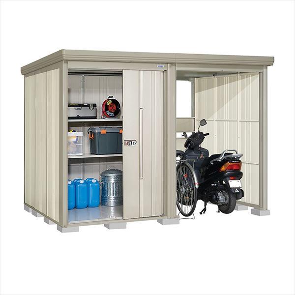タクボ物置 TP/ストックマンプラスアルファ TP-SZ3019W 多雪型 結露減少屋根 『追加金額で工事も可能』 『駐輪スペース付 屋外用 物置 自転車収納 におすすめ』 ムーンホワイト