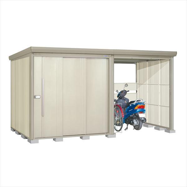 タクボ物置 TP/ストックマンプラスアルファ TP-40R19W 一般型 標準屋根 『追加金額で工事も可能』 『駐輪スペース付 屋外用 物置 自転車収納 におすすめ』 ムーンホワイト