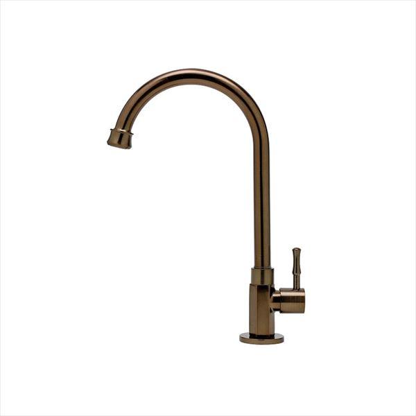 オンリーワン  アンティーク水栓 スワンキー  AE4-MA740LB   『水栓柱・立水栓 単水栓 室内専用』 ラスターブロンズ