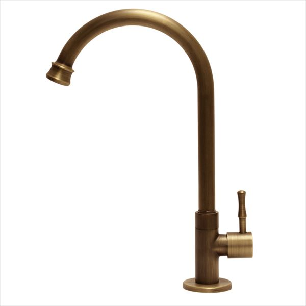 オンリーワン  アンティーク水栓 スワンキー  AE4-MA740AB   『水栓柱・立水栓 単水栓 室内専用』 アンティークブラス