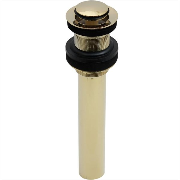 オンリーワン  アンティーク水栓 排水部品  プッシュ式ドレンユニット32(横穴なし)  AE4-MAPDPB   『水栓柱・立水栓 室内専用』 ブラス