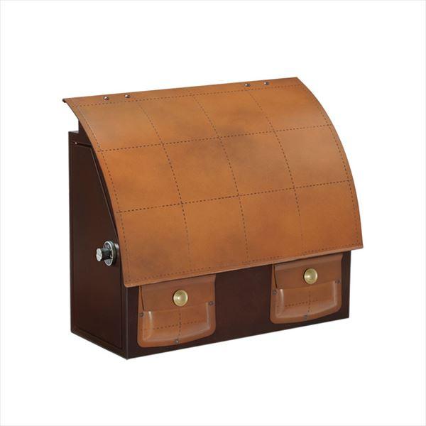 送料無料 新商品 新型 オンリーワン 鞄のような可愛らしいレザー風ポスト クエロ 鍵あり 左勝手 NL1-P55 有名な 郵便ポスト