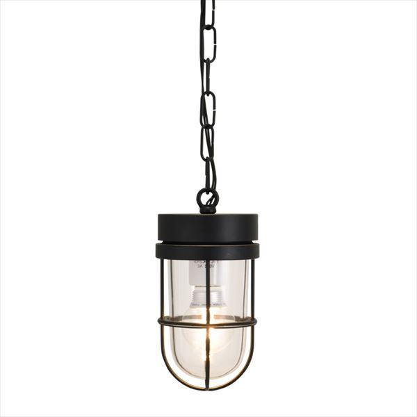 オンリーワン 真鍮製ポーチライト P6000 クリアーガラス(LED仕様)  ブラック GI1-700667  『エクステリアライト 屋外照明』