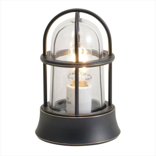 真鍮製ガーデンライト MINI オンリーワン  『エクステリアライト ブラック BH1000 GI1-750023  クリアーガラス(LED仕様) 屋外照明』