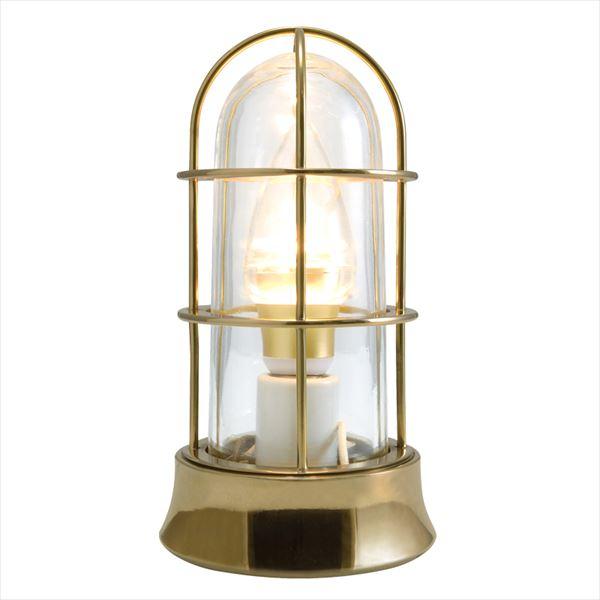 オンリーワン 真鍮製ガーデンライト BH1000 SLIM クリアーガラス(LED仕様)  磨き GI1-700542  『エクステリアライト 屋外照明』