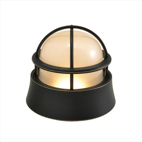 オンリーワン 真鍮製ガーデンライト BH1000 LOW くもりガラス(LED仕様)  ブラック GI1-700582  『エクステリアライト 屋外照明』