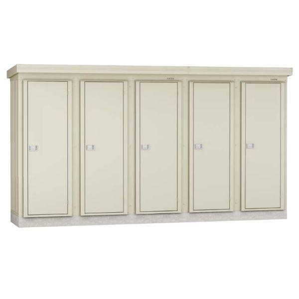 ダイケン DM-KNL 連続物置 DM-KNL C20813 連結型(2棟タイプ) *追加棟施工には基本棟の別途購入が必要です  『連続型物置 マンション アパート 工場向け 屋外用』