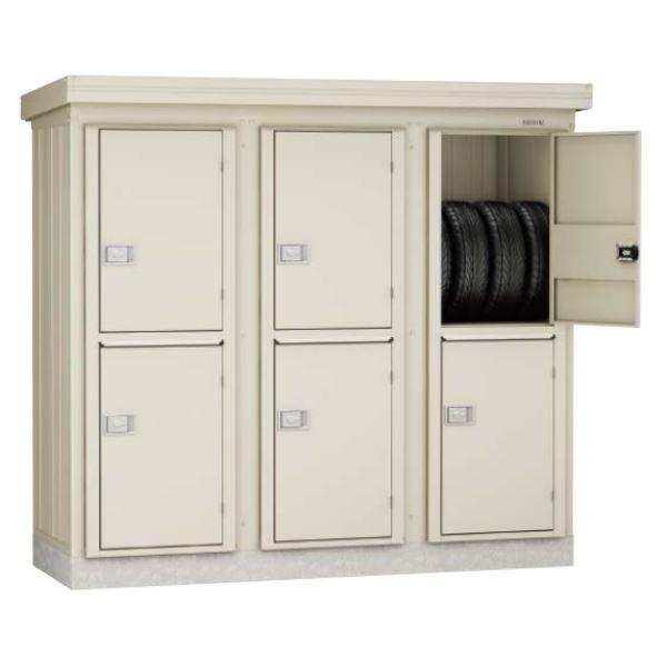 ダイケン DM-KNLW 連続物置 DM-KNL WC20808 連結型(2棟タイプ) *追加棟施工には基本棟の別途購入が必要です  『連続型物置 マンション アパート 工場向け 屋外用』