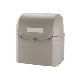 リッチェル ワイドペールST 500 『ゴミ袋(45L)集積目安 12袋、世帯数目安 6世帯』 『ゴミ収集庫』 グレー