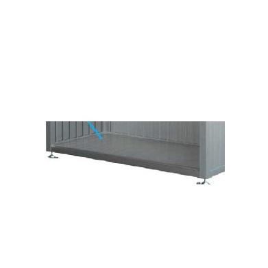YKKAP ゴミ収納庫 CRステーション 18-07用オプション (床板のみ) 『ゴミ収集庫』 プラチナステン