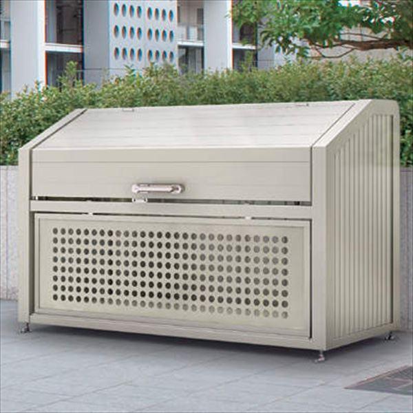 四国化成 ゴミストッカー PS型 奥行900mm GPSN-1312-09SC 『ゴミ袋(45L)集積目安 22袋、世帯数目安 11世帯』 『ゴミ収集庫』『ダストボックス ゴミステーション 屋外』 ステンカラー