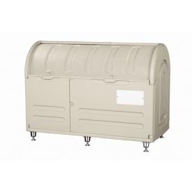 アロン化成 ステーションボックス #800A(アジャスター仕様) 『ゴミ袋(45L)集積目安 17袋、世帯数目安 8世帯』 『ゴミ収集庫』 ウォームグレー