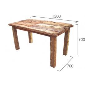 送料無料【ジャービス商事】1品1品手をかけて作りあげた商品 ジャービス商事 流木テーブル 『ガーデンテーブル』 無塗装