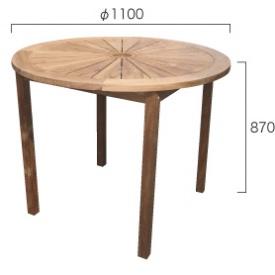 ジャービス商事 ハイテーブル 『ガーデンテーブル』 無塗装