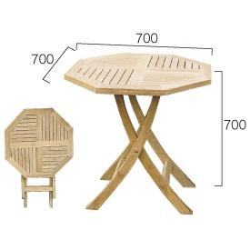 ジャービス商事 折り畳みテーブル 『ガーデンテーブル』 無塗装