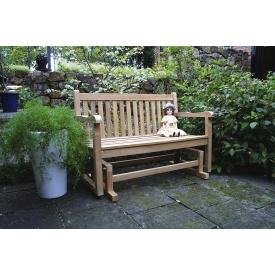 ジャービス商事 ジュリアロッキングベンチ 『ガーデンベンチ』 無塗装