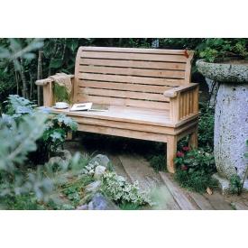 ジャービス商事 スネイルベンチ 『ガーデンベンチ』 無塗装
