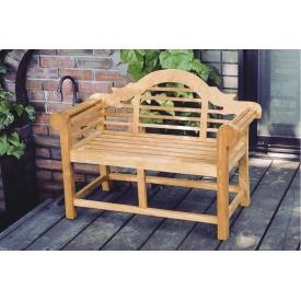 ジャービス商事 ミニ貴族ベンチ 『ガーデンベンチ』 無塗装