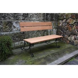 ジャービス商事 スクロールベンチ 『ガーデンベンチ』 無塗装