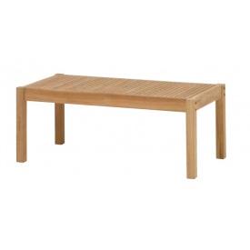 送料無料【タカショー】天然木のぬくもりを大切にしたチークガーデンファニチャー タカショー フウガ コーヒーテーブル TRD-249T #33883200 『ガーデンテーブル』 ブラウン