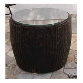 タカショー 庭座 サイドテーブル KFA-T001 #34686800 『ガーデンテーブル』 ダークブラウン