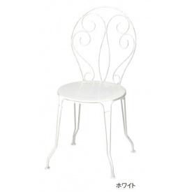 送料無料【ユニソン】エスプリに富んだハイクオリィ・デザイン。 ユニソン フェルモブ モンマルトルチェア 『ガーデンチェア』 ホワイト
