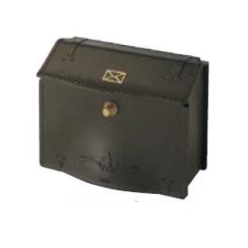 リクシル TOEX エクスポスト デザインタイプ D-1型(壁付け) 『リクシル』 『郵便ポスト』 ラスティブラウン