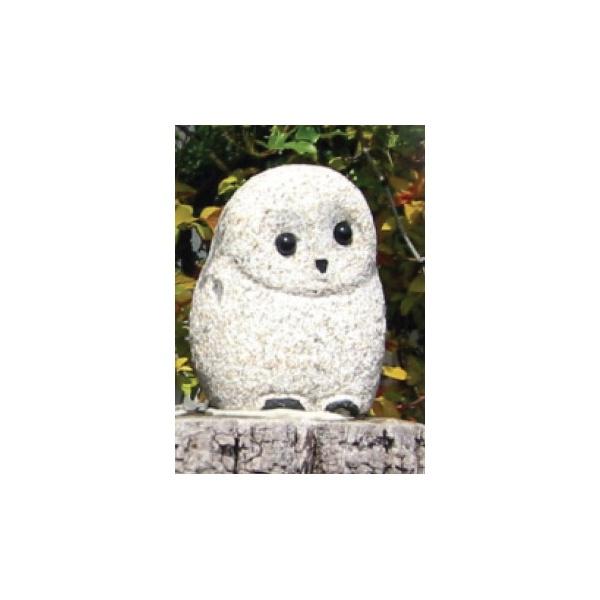 【半額】 錆御影 小 オンリーワン フクロウ XO3-02:エクステリアのプロショップ キロ-エクステリア・ガーデンファニチャー