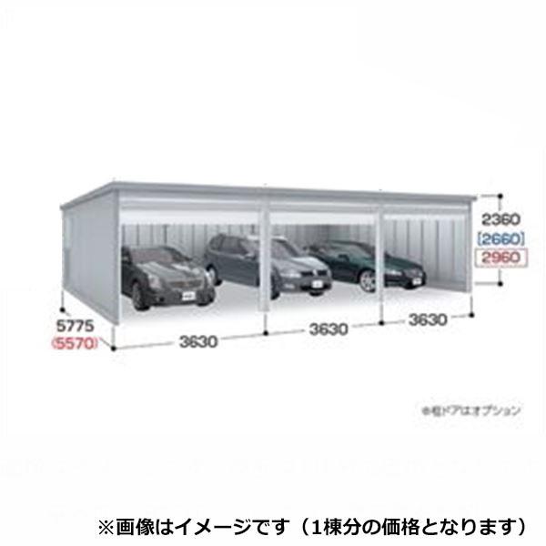 『配送は関東・東海限定』 イナバ物置 ガレーディア GRN-3657HL(基本棟) 一般型 『シャッター車庫 ガレージ』