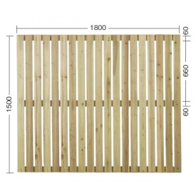 『欠品中』タカショー e-ウッドパネル13型 (板塀)H1500 『緑化 天然木フェンス 柵』 別注塗装済み(ホワイト)