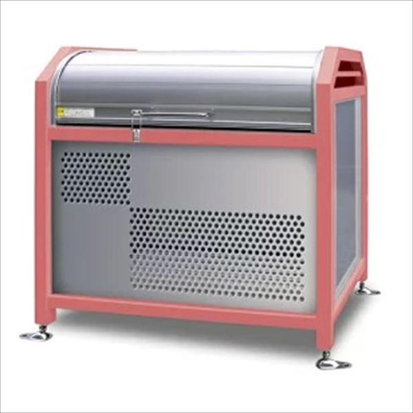 アルミック ミックストッカー 1200タイプ 『ゴミ収集庫』『ダストボックス ゴミステーション 屋外』『ゴミ袋(45L)集積目安 11袋、世帯数目安 5世帯』『完成品で届けるのですぐに使用可能』 ピンク