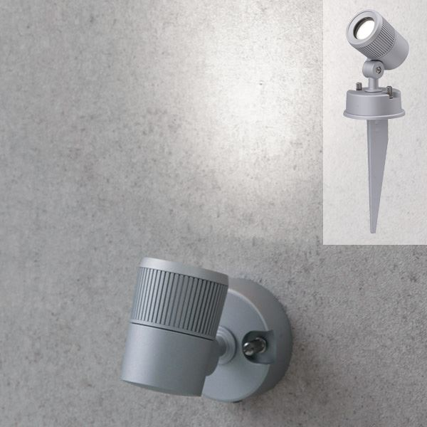 タカショー De-SPOT 広角タイプ(LED色:白) 12V用 HBB-010W #49903800 『ローボルトライト』 『エクステリア照明 ライト』