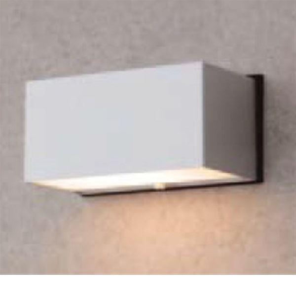 タカショー エクスレッズ ウォールライト5型 (LED色:電球色) 12V用 HBG-D02S #61126300 『ローボルトライト』 『エクステリア照明 ライト』 シルバー