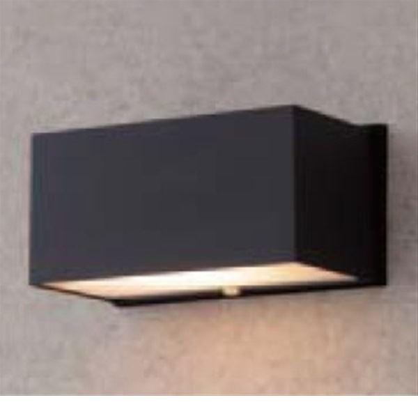 タカショー エクスレッズ ウォールライト5型 (LED色:電球色) 12V用 HBG-D02K #61125600 『ローボルトライト』 『エクステリア照明 ライト』 ブラック