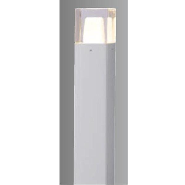 タカショー スタイルポールライト 9型(LED色:電球色) 100V用 HFD-D04S 100V用 『エクステリア照明 ライト』 シルバー