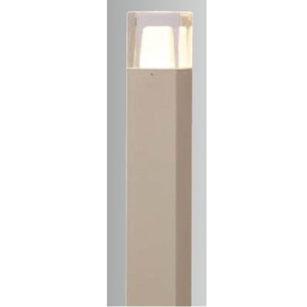 タカショー スタイルポールライト 9型(LED色:電球色) 100V用 HFD-D04G 100V用 『エクステリア照明 ライト』 グレイッシュ ゴールド