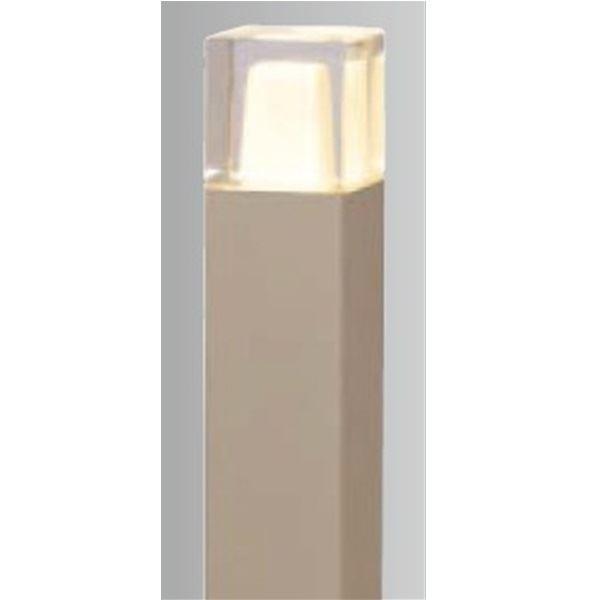 タカショー スタイルポールライト 10型(LED色:電球色) 100V用 HFD-D03G 100V用 『エクステリア照明 ライト』 グレイッシュ ゴールド