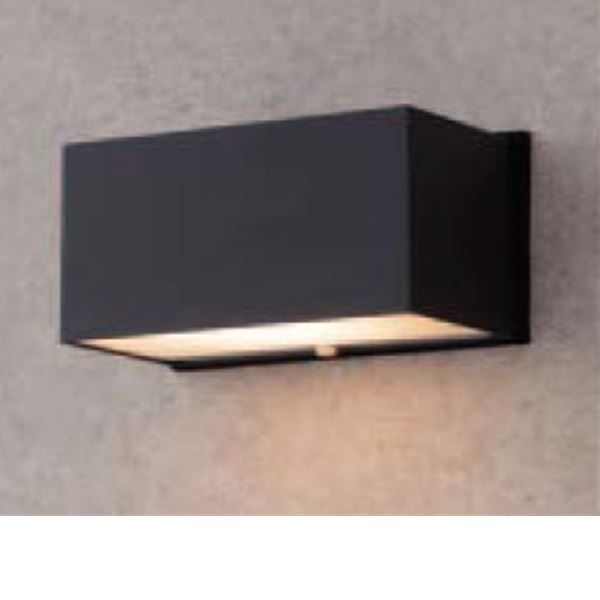 タカショー スタイルウォールライト 3型(LED色:電球色) HFB-D02K #61179900 『100Vライト 表札灯』 『エクステリア照明 ライト』 ブラック